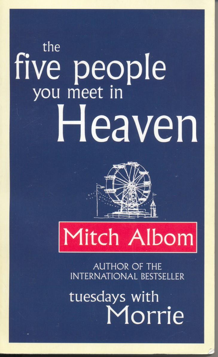five people you meet in heaven essay questions